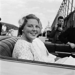 Prinses Beatrix in New York