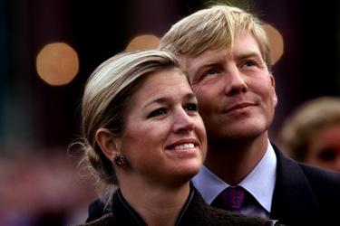 Jonge Willem-Alexander en Máxima