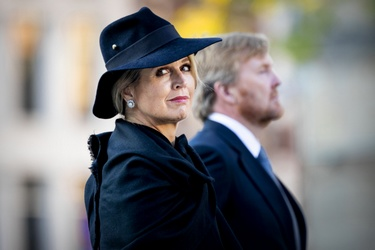 Koningin Máxima tijdens Dodenherdenking