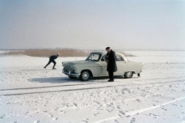 Strenge winter in Nederland