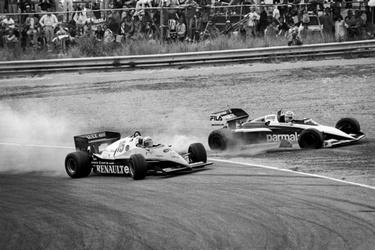 Formule 1-race op circuit Zandvoort