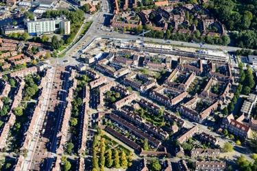 Amsterdam-Noord vanuit de lucht