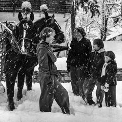 Prinsesjes op wintersportvakantie