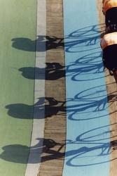 Nederlandse wielerachtervolgingsploeg in de spaanse zon