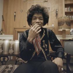Jimi Hendrix in Nederland