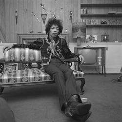 Jimi Hendrix bezoekt Nederland