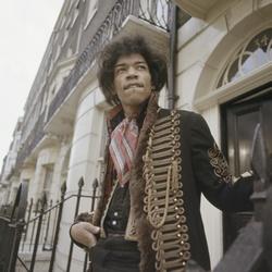 Gitaarlegende Jimi Hendrix in Nederland
