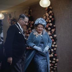 Koningin Juliana op het huwelijk van prinses Beatrix en prins Claus