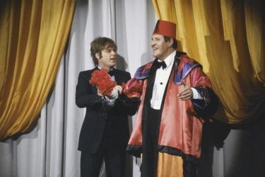 Willem Ruis en Tommy Cooper