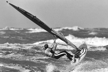 WK windsurfen in Scheveningen