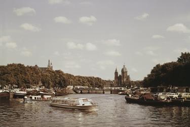 De binnenstad van Amsterdam