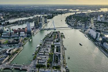 De Nieuwe Maas en het Noordereiland