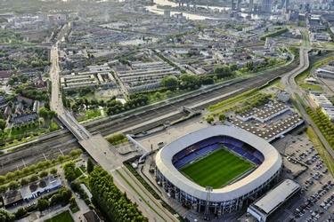 Rotterdam-Zuid bij De Kuip