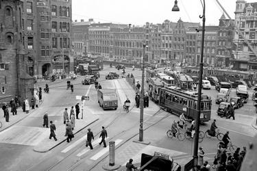 Verkeerstromen in Amsterdam