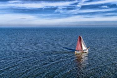Zeilschip op het IJsselmeer