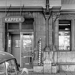 Kapperszaak in Amsterdam