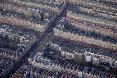 Het centrum van Amsterdam
