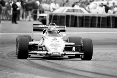 Keke Rosberg in Zandvoort