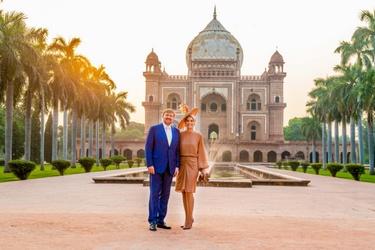 De Oranjes op staatsbezoek in India