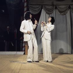 Songfestival-deelnemers Sandra en Andres