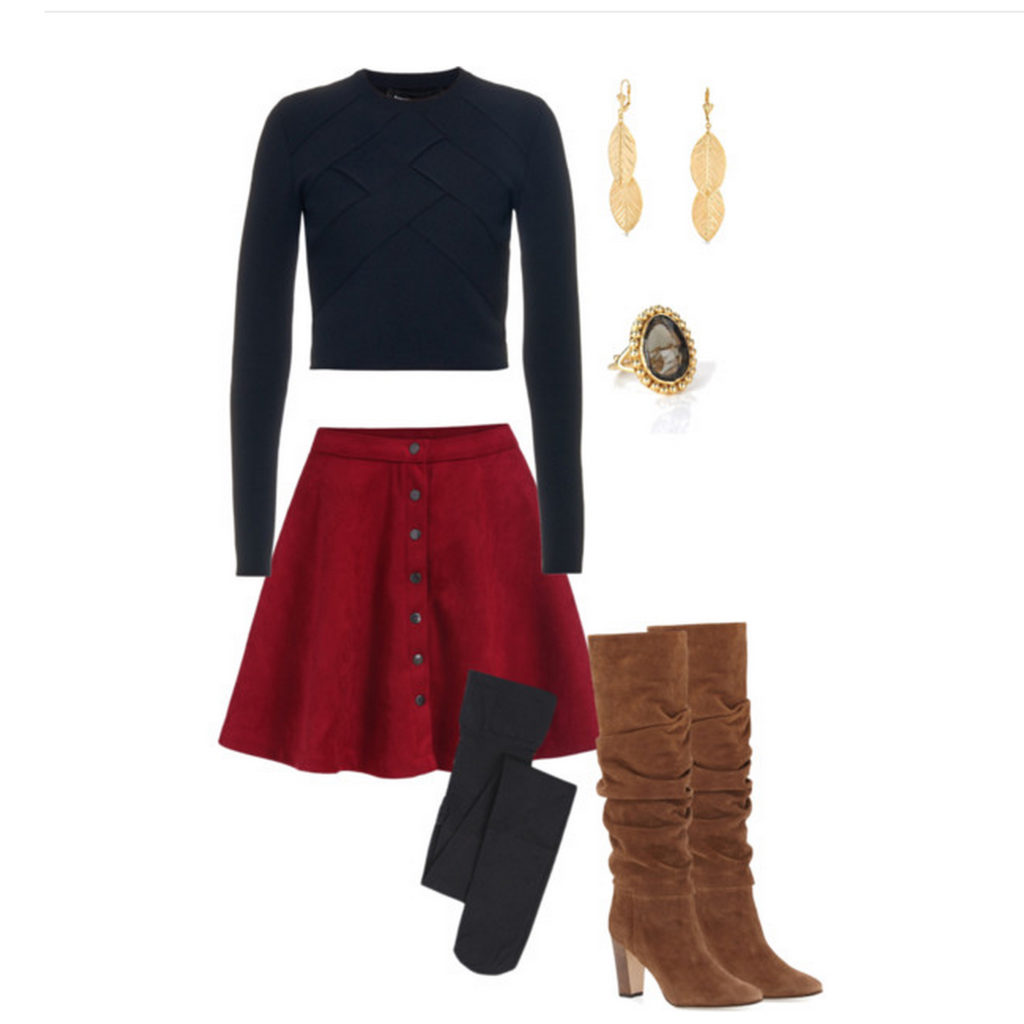 Fashion Friday | Cropped Sweater Style