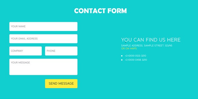 How to Create HTML Contact Forms on Wordpress Website
