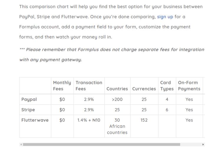 Formplus-Payment-Comparison-Page