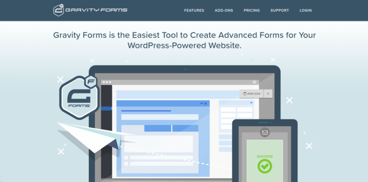 Gravity-Forms-Home-page-Formplus-Top-Online-Form-Builders