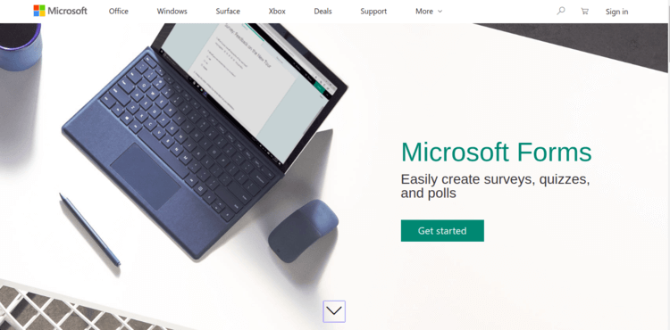 Microsoft-Forms-Home-page-Formplus-Top-Online-Form-Builders