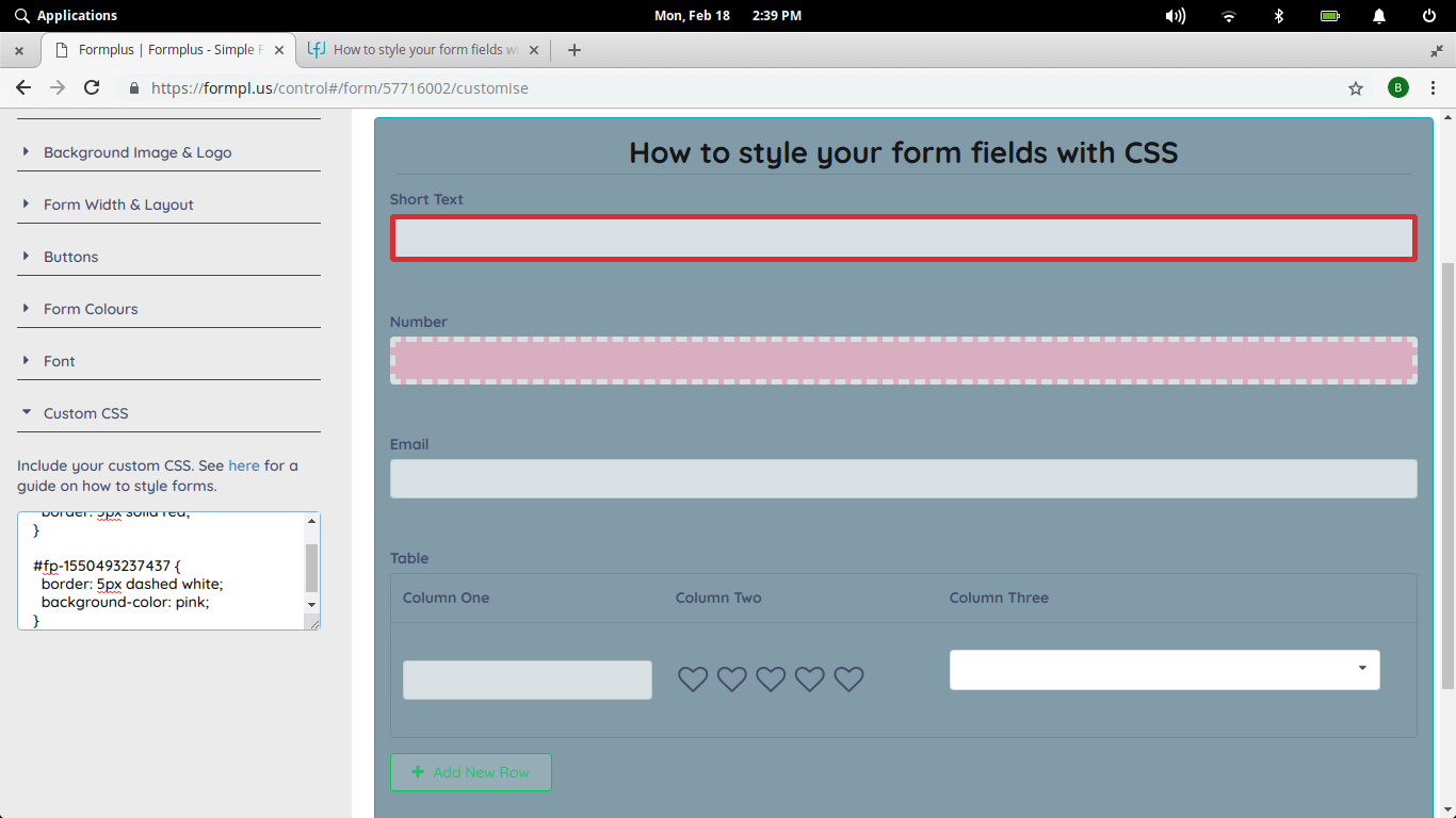 styling-form-fields-with-css-formplus-css-forms