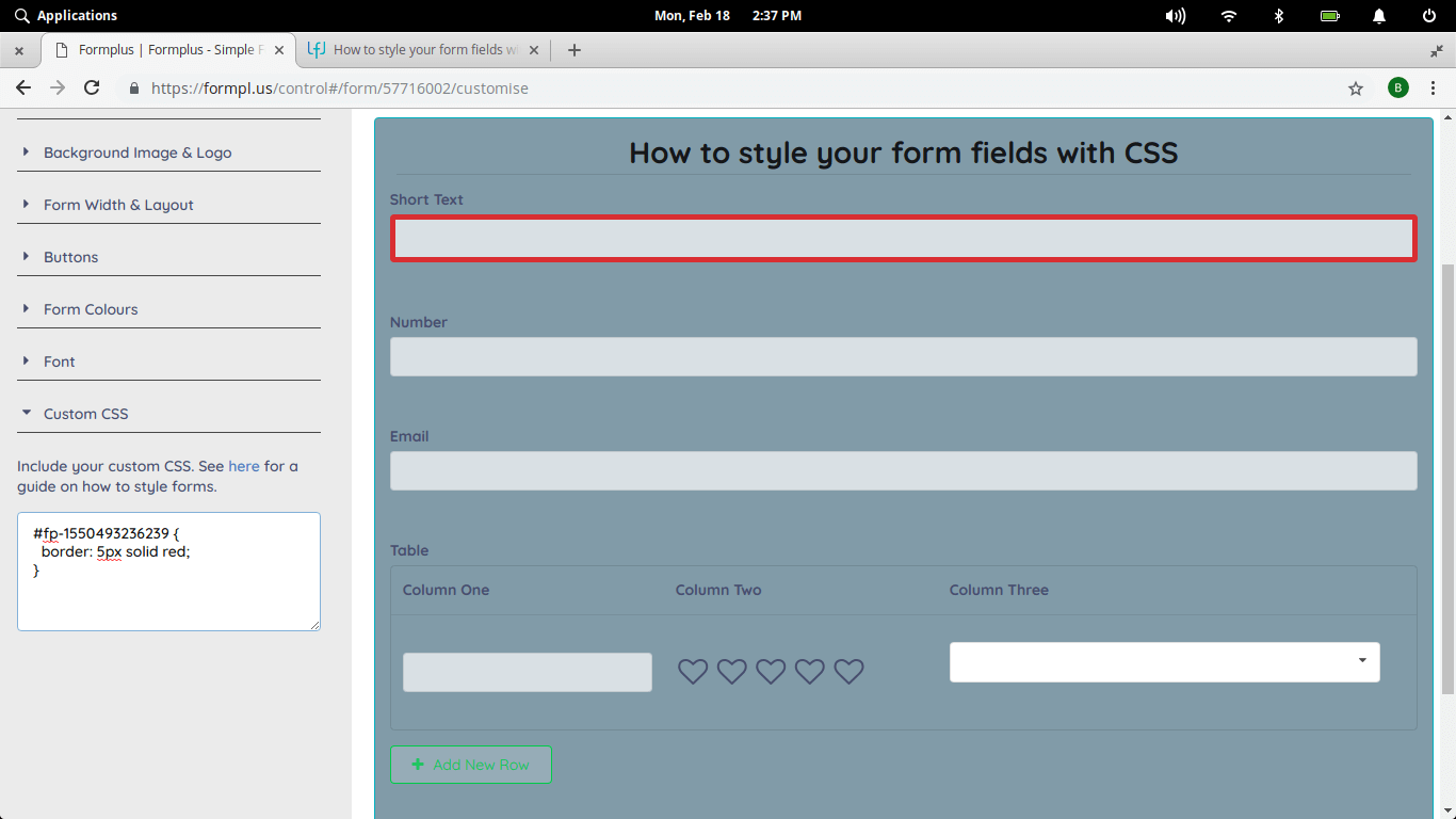 styling-form-fields-with-css-formplus-css-forms-2