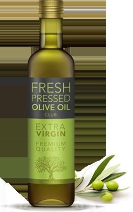 Fresh-Pressed Olive Oil