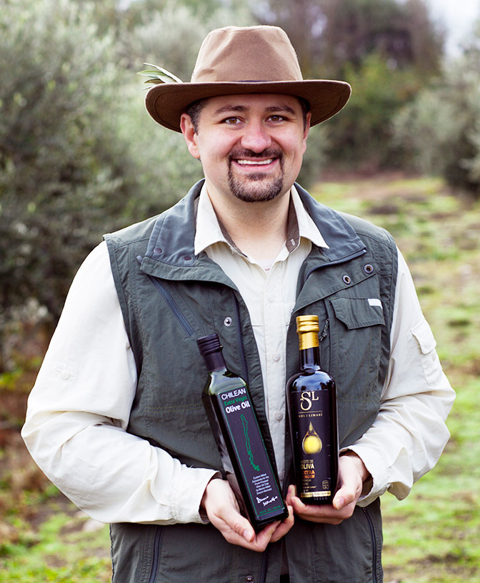 TJ Robinson, The Olive Oil Hunter