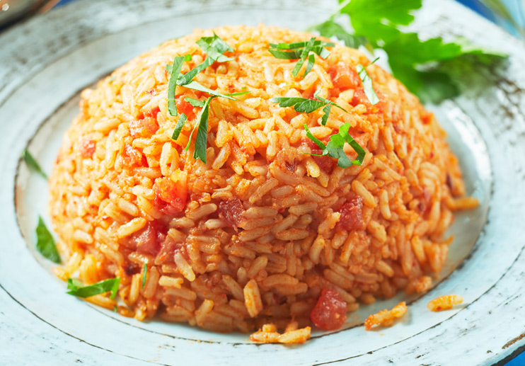 Portuguese Rice and Tomatoes