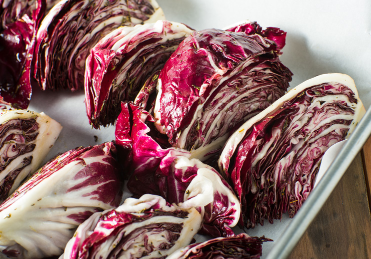 Radicchio Grilled with Olive Paste and Anchovies