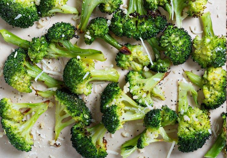 Big-Flavour Broccoli with Manchego
