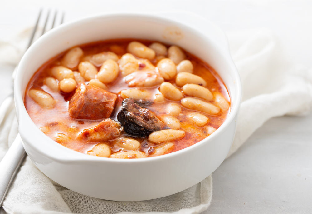 Asturian Pork and Bean Stew