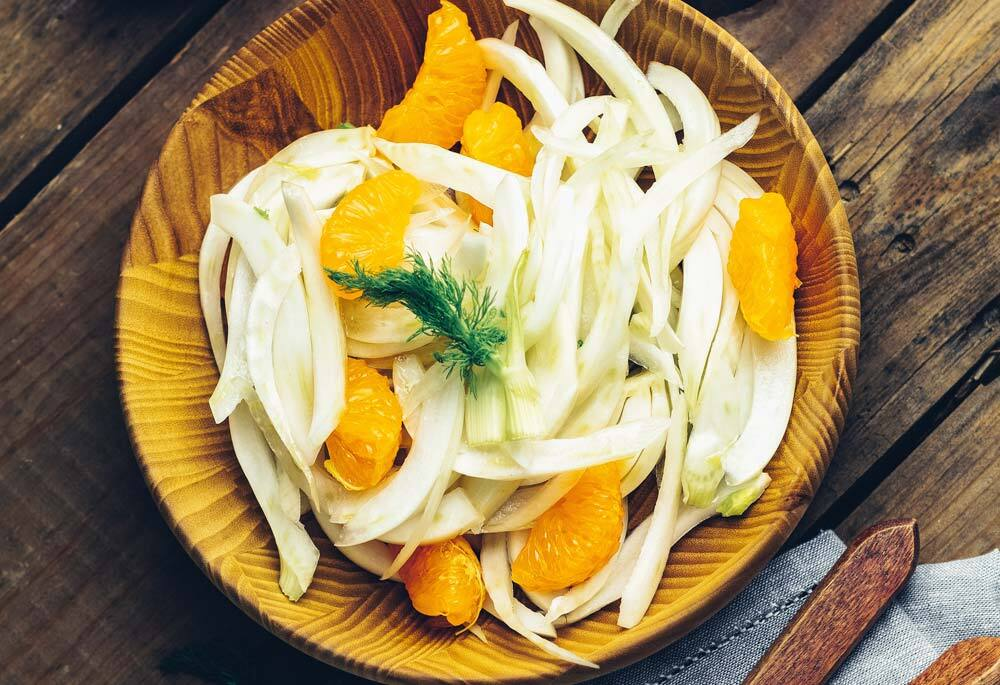 Orange and Fennel Salad with Marcona Almonds