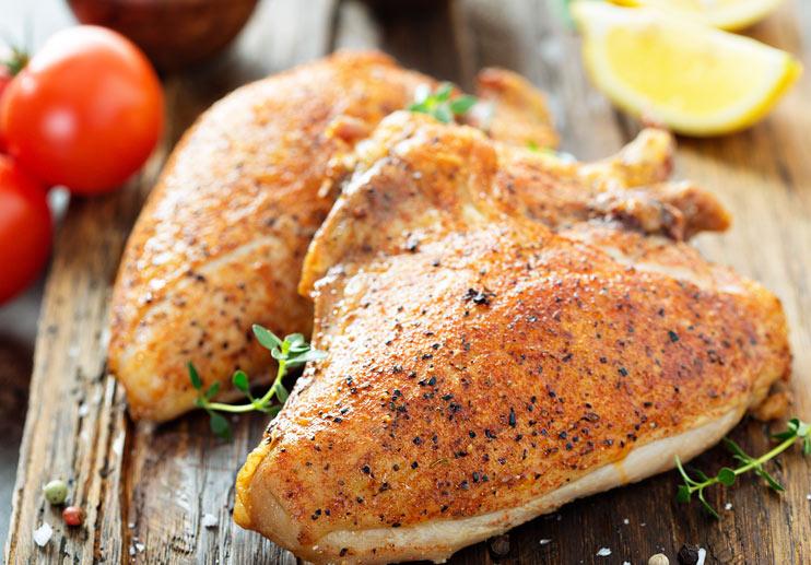 Garlicky Herbed Chicken
