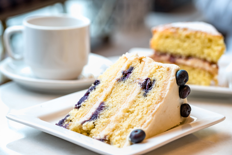 Lemon Blueberry Zucchini Cake
