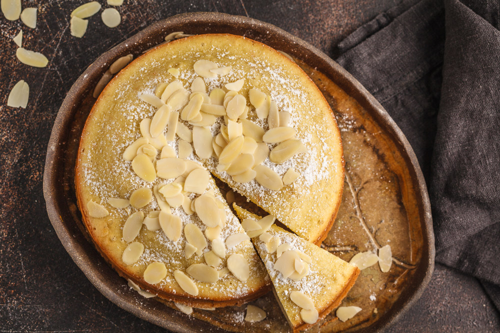 Skillet Lemon Olive Oil Cake