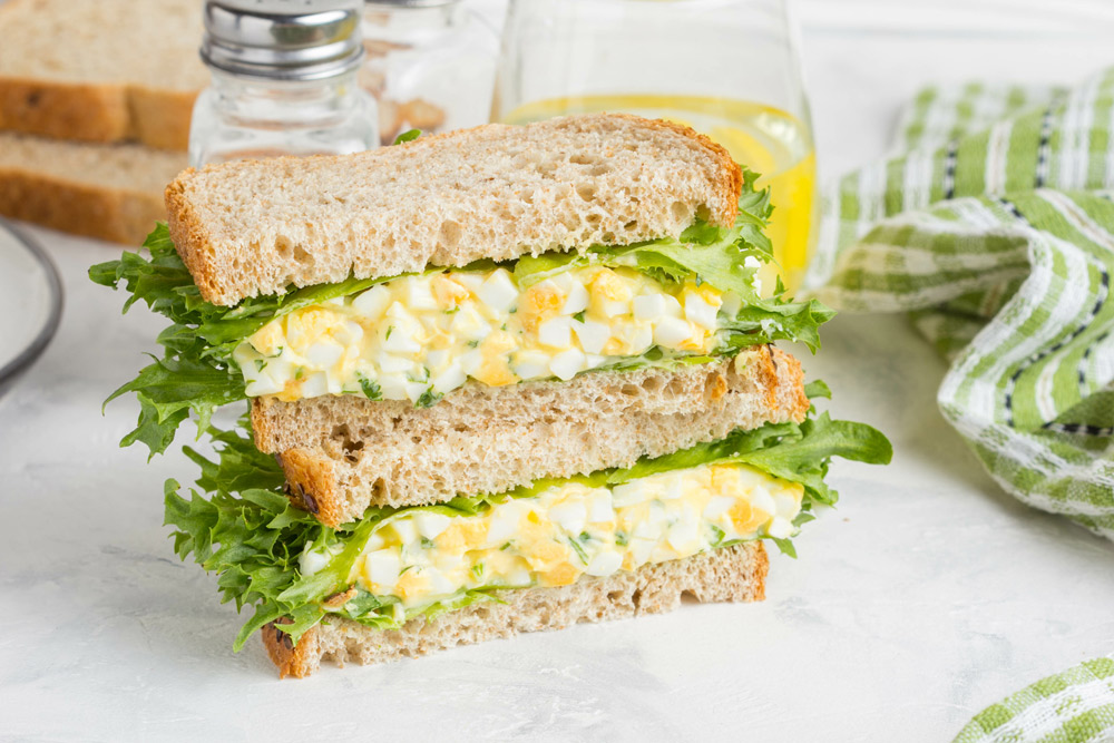 Olive Oil Egg Salad