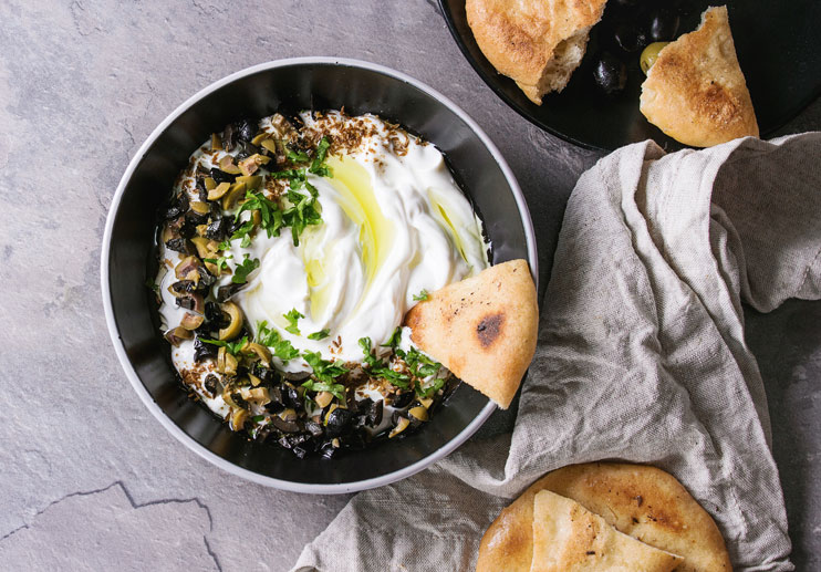 Dukkah-Spiced Yogurt Dip