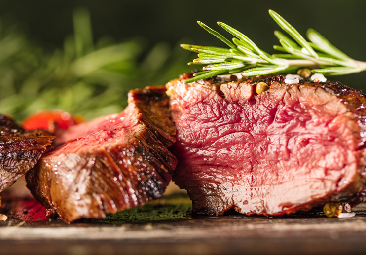 Herb-Marinated Beef Tenderloin