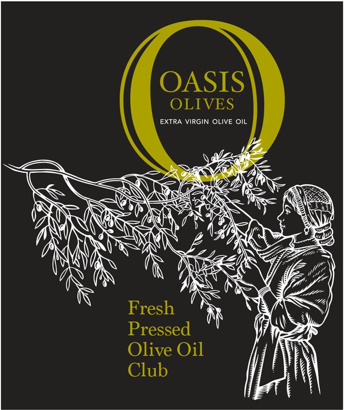 Producer: Oasis Olives 2020, Kialla, Victoria, Australia Fresh Pressed Olive Oil Label