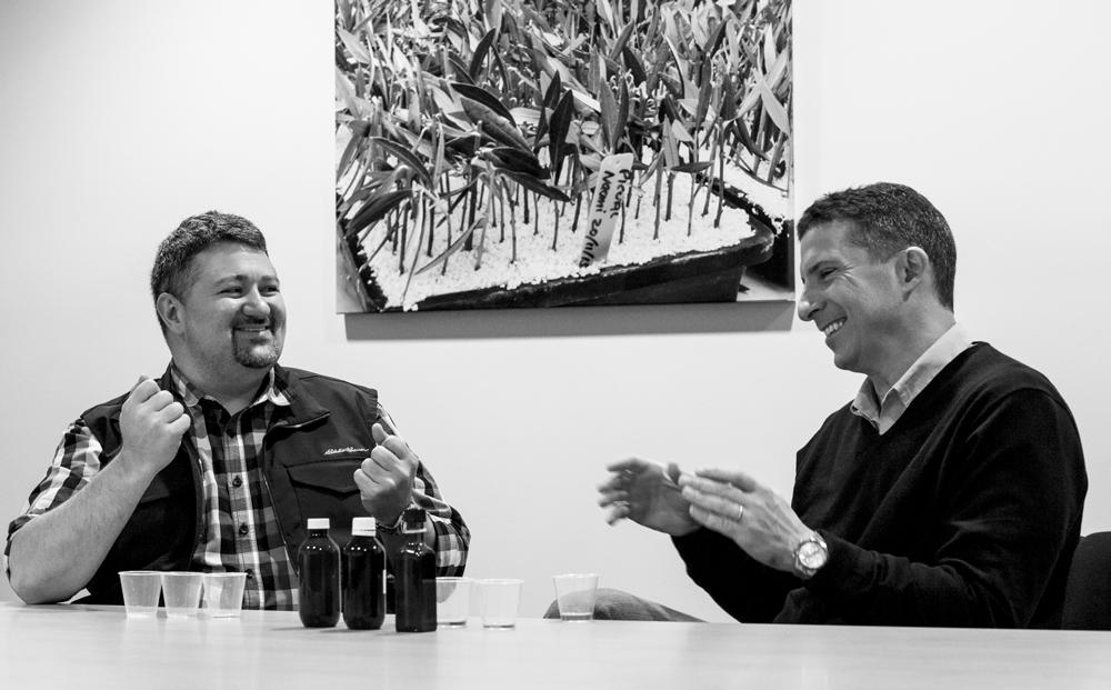 T. J. Robinson and Leandro Ravetti