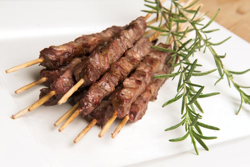 Barbecued Lamb Skewers (Arrosticini)