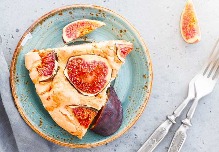 Fig and Almond Olive Oil Cake