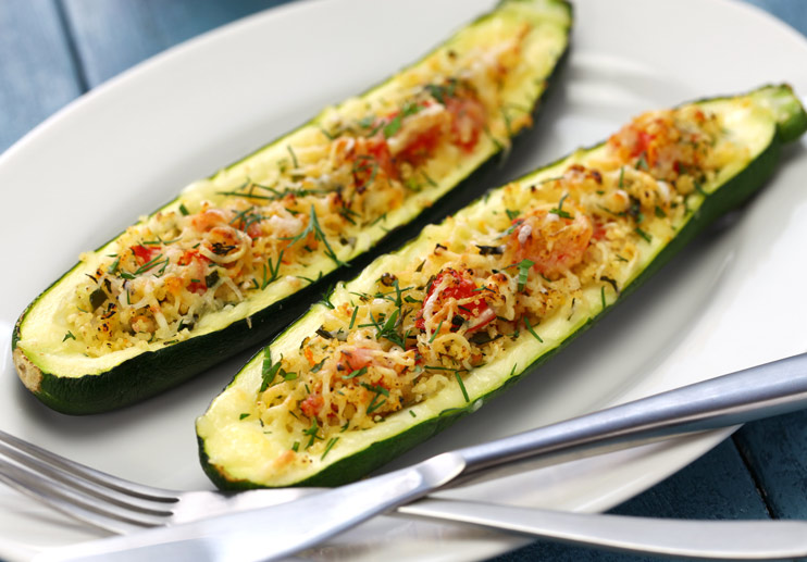 Slow-Roasted Zucchini Spears