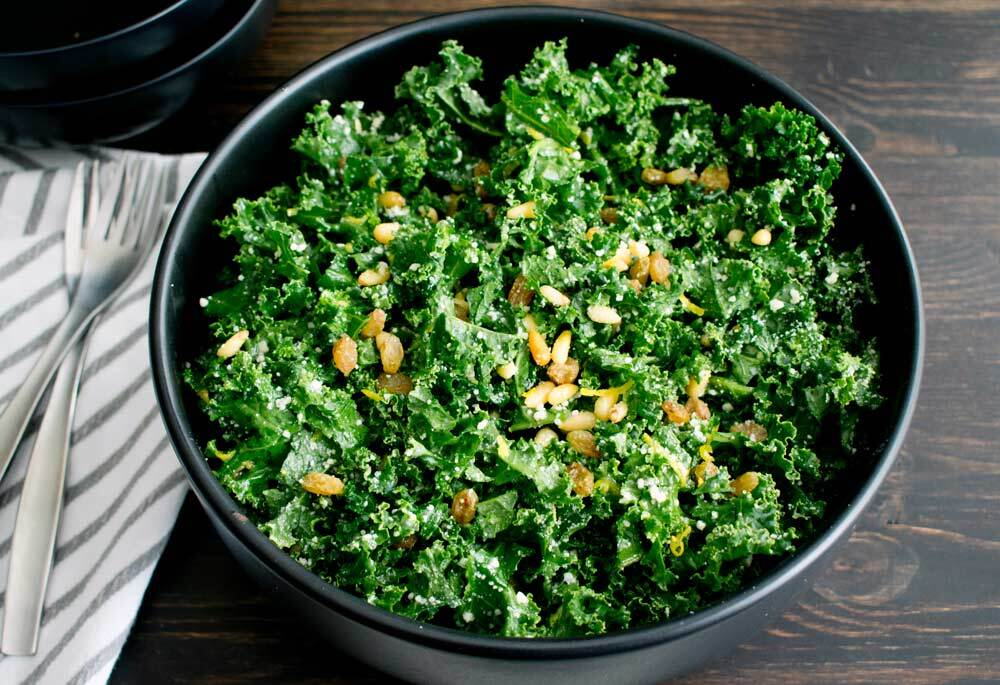Kale Salad with Grana Padano